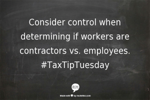 recite-contractor vs employee
